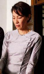 The Lady, ritratto di una donna straordinaria - Una foto dal set del film The Lady di Luc Besson.