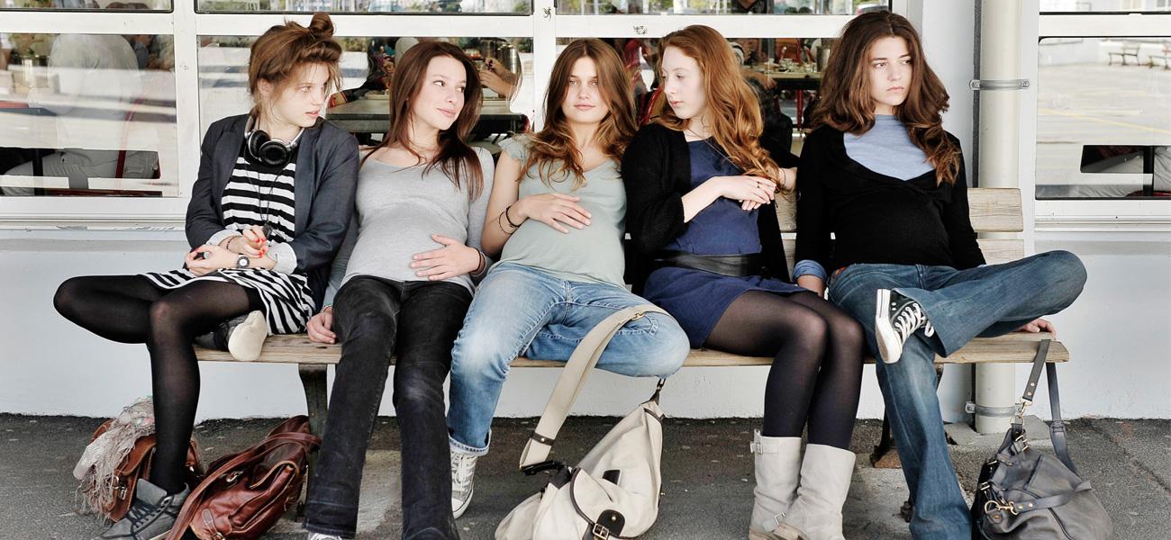 In foto Louise Grinberg Dall'articolo: 17 ragazze, incinte con incoscienza e per ribellione.