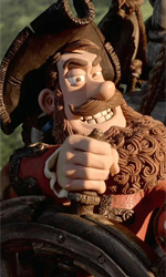 Pirati! Briganti da strapazzo 3D, all'arrembaggio! - Capitan Pirata in una scena del film Pirati! Briganti da strapazzo 3D.