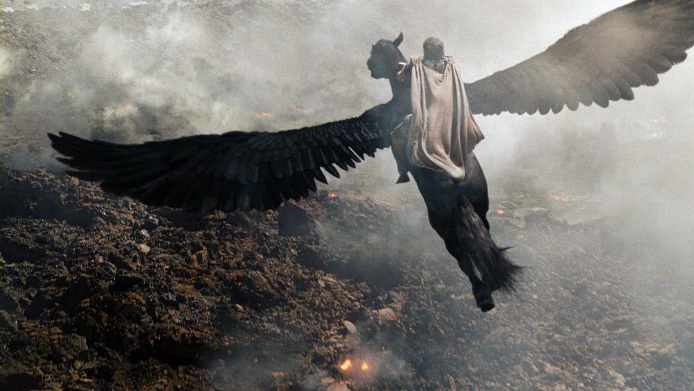 Una scena del film La furia dei titani di Jonathan Liebesman. -  Dall'articolo: La furia dei titani, ritorno nell'oltretomba per salvare Zeus.