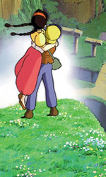 Una scena del film Il castello nel cielo di Hayao Miyazaki. -  Dall'articolo: Il castello nel cielo, alla ricerca di Laputa.