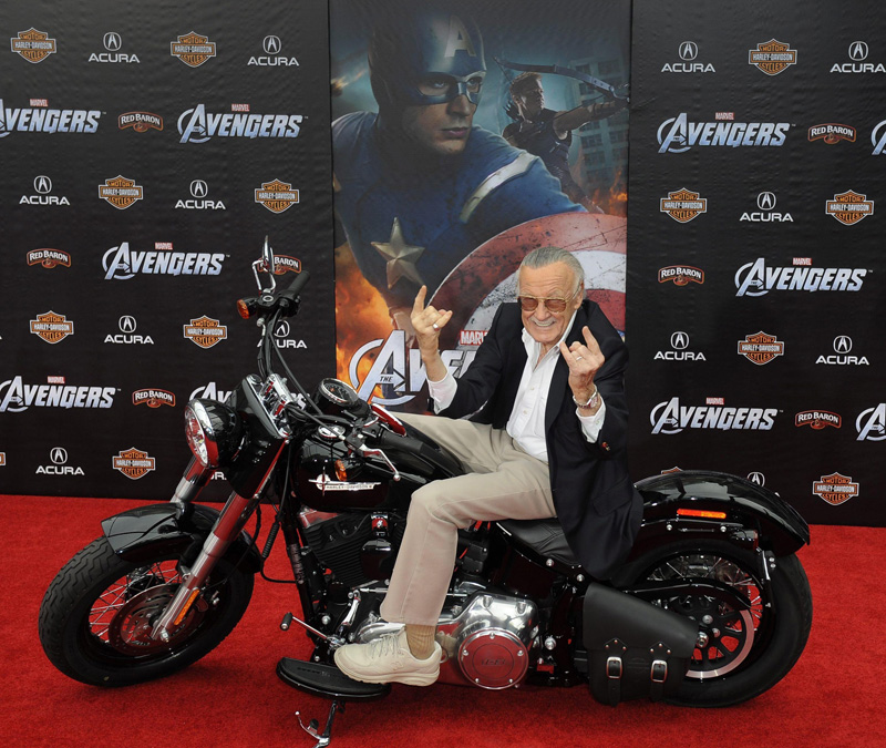 In foto Stan Lee Dall'articolo: The Avengers, la premiere ad Hollywood.