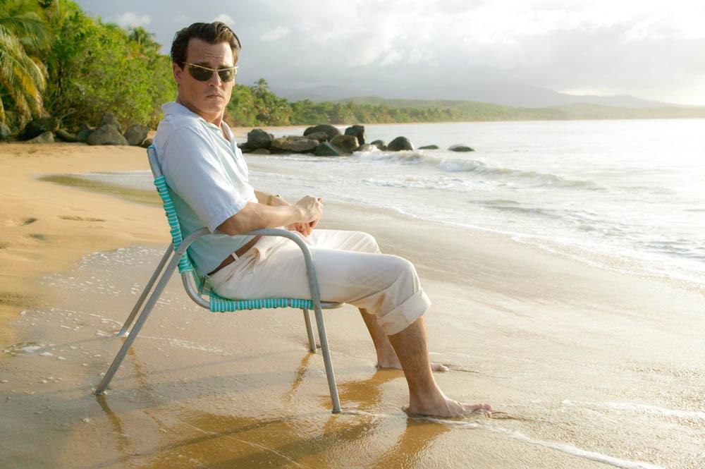 In foto Johnny Depp (55 anni) Dall'articolo: The Rum Diary, cronache di una passione.
