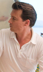 In foto Johnny Depp (57 anni) Dall'articolo: The Rum Diary, cronache di una passione.