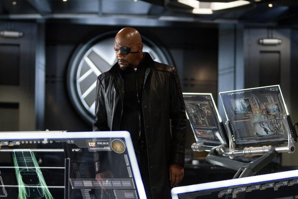In foto Samuel L. Jackson (73 anni) Dall'articolo: The Avengers, i vendicatori sono arrivati.