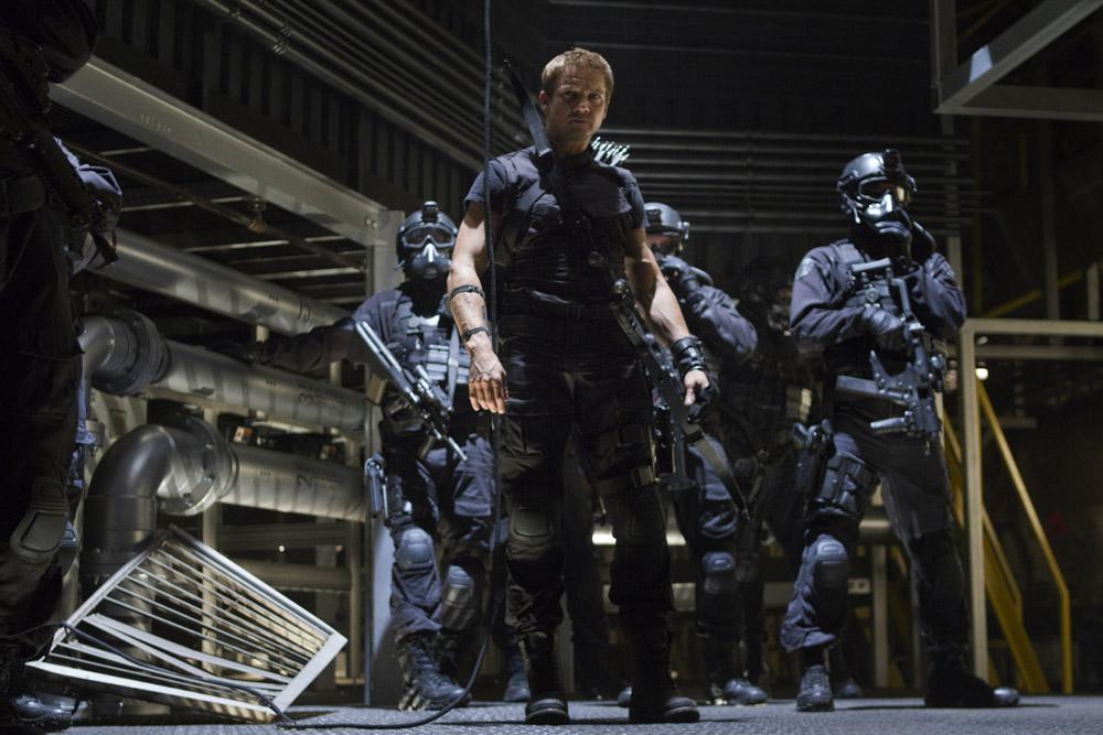 In foto Jeremy Renner (48 anni) Dall'articolo: The Avengers, i vendicatori sono arrivati.