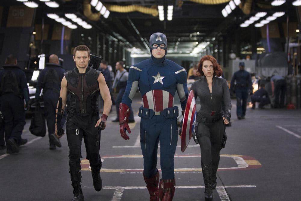 In foto Chris Evans (40 anni) Dall'articolo: The Avengers, i vendicatori sono arrivati.