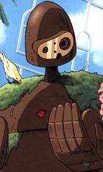 In foto una scena del film Il castello nel cielo di Hayao Miyazaki. -  Dall'articolo: Studio Ghibli, il trionfo industriale di due artisti puri.
