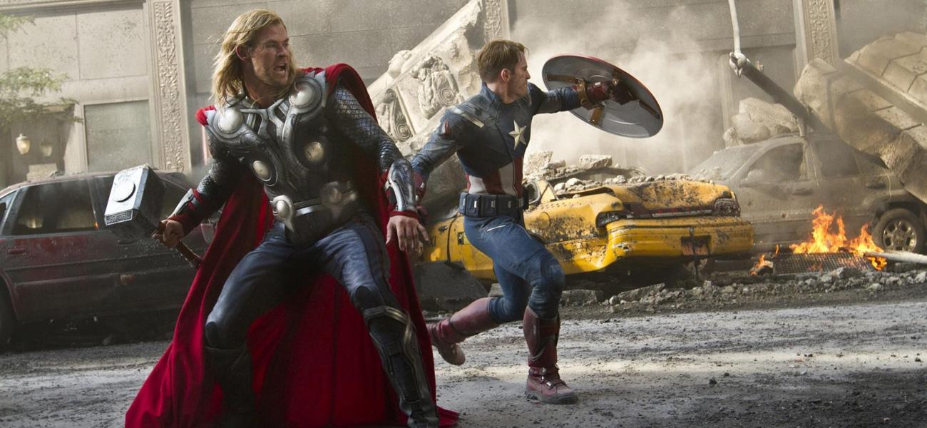 In foto Chris Hemsworth (38 anni) Dall'articolo: Supereroi a ritmo di commedia.