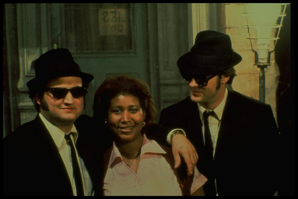 In foto John Belushi Dall'articolo: I Blues Brothers tornano al cinema (restaurati).