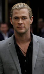 In foto Chris Hemsworth (29 anni)