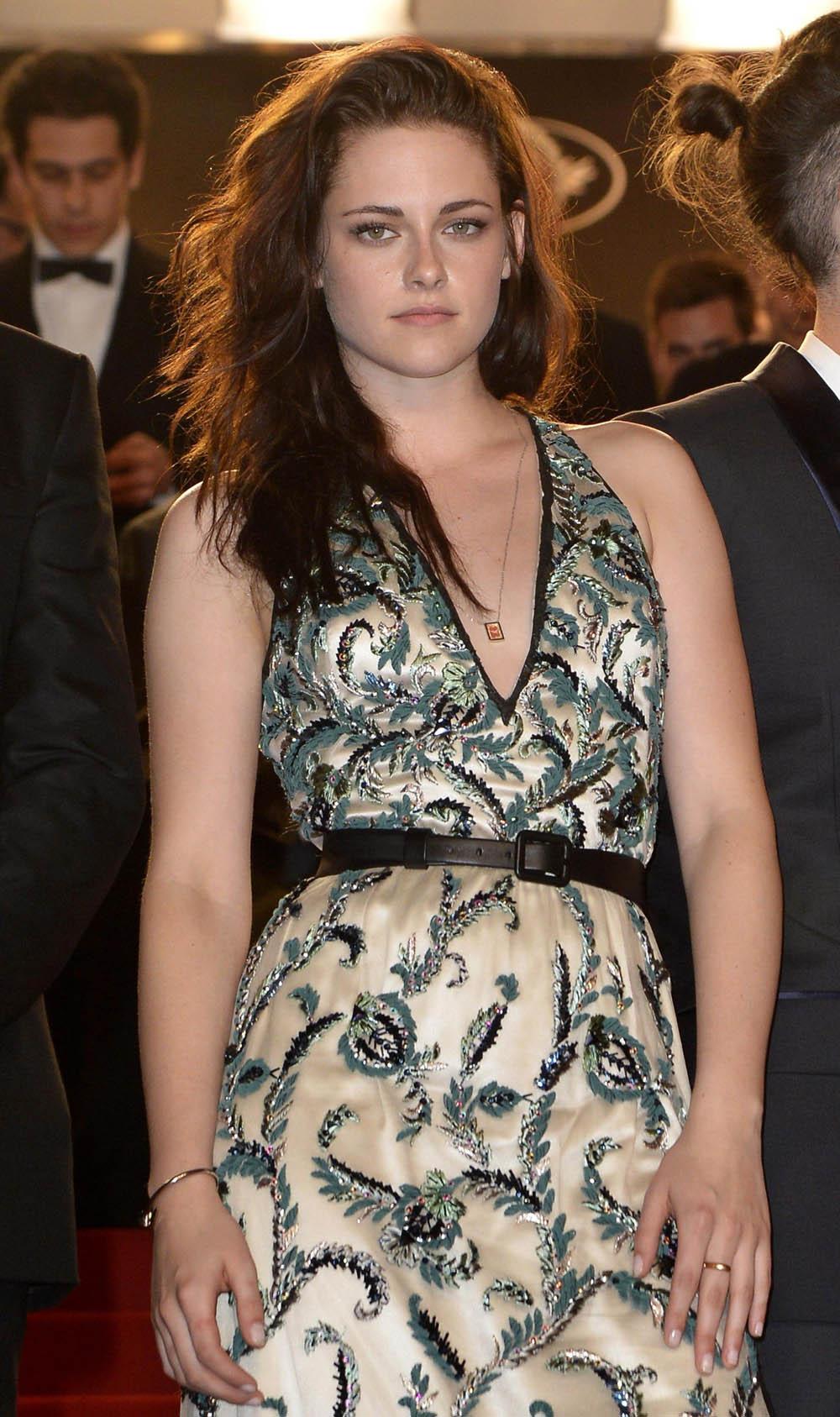 In foto Kristen Stewart (29 anni) Dall'articolo: Cannes 65, Bertolucci on the road.