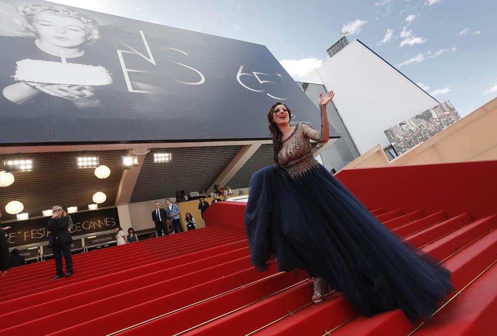 In foto Isabelle Adriani (40 anni) Dall'articolo: Cannes 65, Bertolucci on the road.