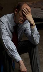 Paura 3D, le foto del film - Peppe Servillo concentrato sul set del film Paura 3D dei Manetti Bros.