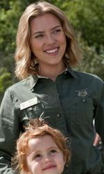 In foto Scarlett Johansson (36 anni) Dall'articolo: La mia vita è uno zoo, una fantastica avventura.