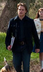 In foto Matt Damon (50 anni) Dall'articolo: La mia vita è uno zoo, una fantastica avventura.
