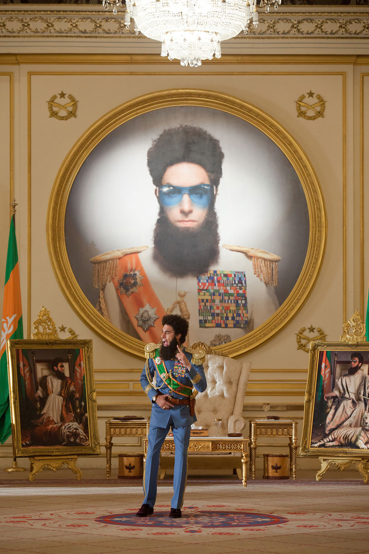 In foto Sacha Baron Cohen (47 anni) Dall'articolo: I dittatori e il cinema.