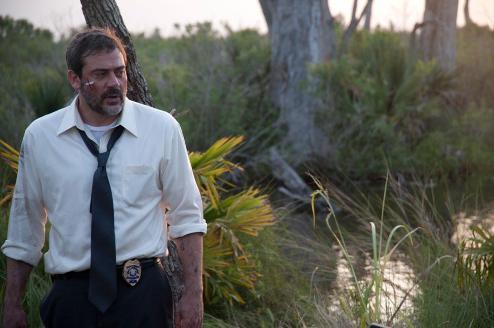 In foto Jeffrey Dean Morgan (52 anni) Dall'articolo: Le paludi della morte, caccia al serial killer.
