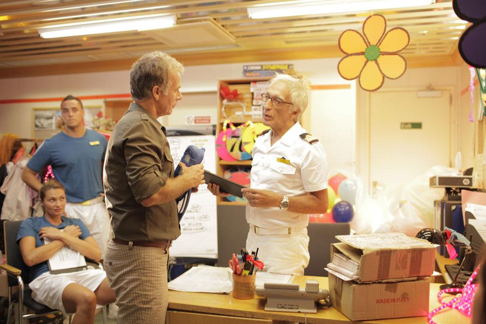 In foto Franck Dubosc (55 anni) Dall'articolo: Benvenuto a bordo, le foto del film.
