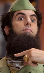 La dittatura della risata - In foto l'attore Sacha Baron Cohen in una scena de Il dittatore.