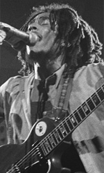In foto Bob Marley (73 anni) Dall'articolo: Bob Marley, il canto della terra.