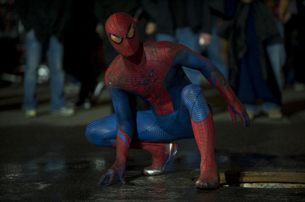 In foto Andrew Garfield (36 anni) Dall'articolo: The Amazing Spider-Man, le foto del film.