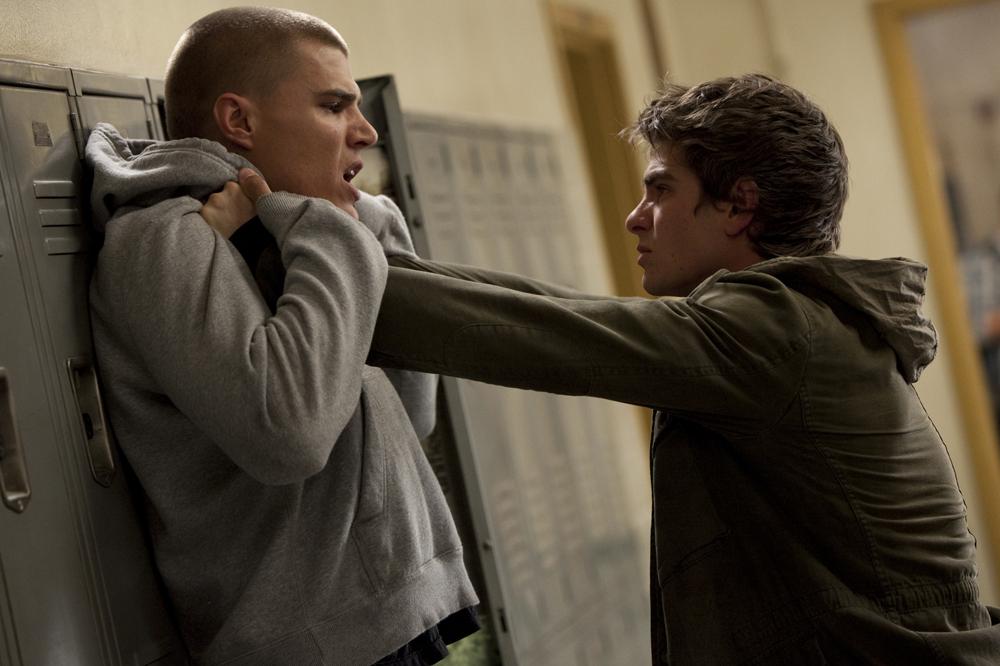In foto Andrew Garfield (38 anni) Dall'articolo: The Amazing Spider-Man, le foto del film.