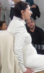 Marina Abramovic – The Artist is Present su MYMOVIESLIVE! - In foto una scena del film.