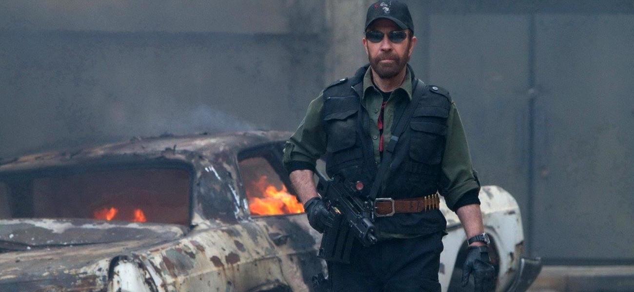 In foto Chuck Norris (81 anni) Dall'articolo: Film nelle sale: soldati a pagamento e amori al tempo delle mele.
