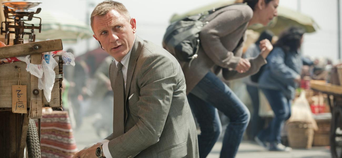 In foto Daniel Craig (53 anni) Dall'articolo: Bond/Skyfall, ancora qualcosa da dire: l'arte.