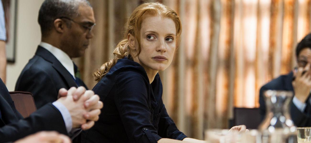 Oscar, arrivano due favoriti - In foto Jessica Chastain in una scena del film <em>Operazione  Zero Dark Thirty</em>.