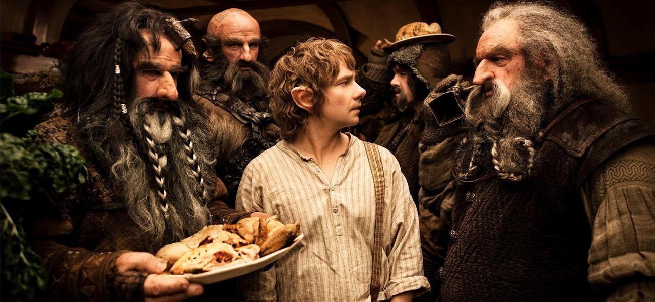 In foto Martin Freeman (49 anni) Dall'articolo: Lo Hobbit, esordio senza record.