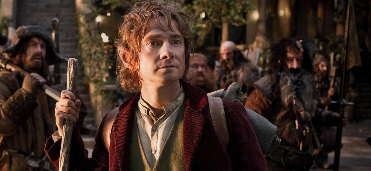 In foto Martin Freeman (49 anni) Dall'articolo: Lo Hobbit: tra il 3D e la grande arte.