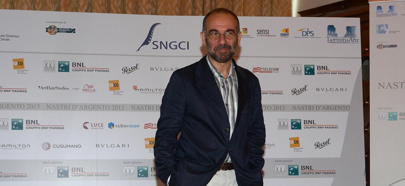 In foto Giuseppe Tornatore (65 anni) Dall'articolo: Nastri d'argento, il trionfo di Tornatore.