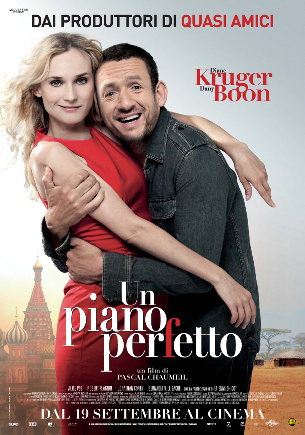 Un piano perfetto, la locandina italiana del film