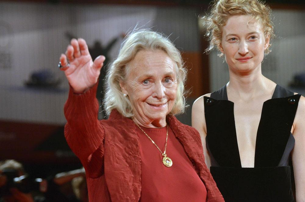 In foto Elena Cotta (90 anni) Dall'articolo: Venezia 70, David Gordon Green presenta Joe.