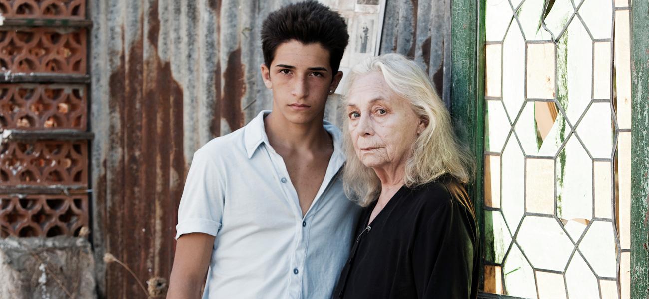 In foto Elena Cotta (90 anni) Dall'articolo: Lo sguardo ostinato.