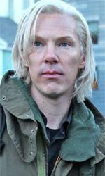Lo sguardo ostinato - In foto Benedict Cumberbatch e Daniel Brühl in una scena del film Il quinto potere.