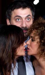 Festival di Roma 2013, oggi è di scena il dramma - Il bacio tra Chiara Caselli e Valeria Golino davanti un sorpreso Filippo Timi.