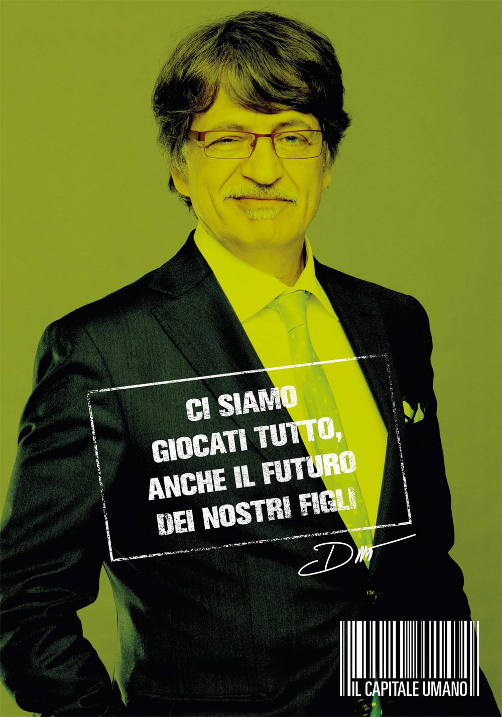 In foto Fabrizio Bentivoglio (62 anni) Dall'articolo: Il capitale umano, i character poster.