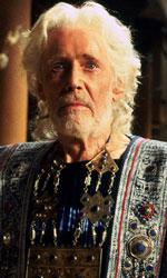 Peter O' Toole, inglese e irlandese - In foto Peter O' Toole nei panni di Priamo nel film di Wolfgang Petersen, Troy.