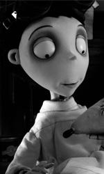 Frankenweenie: quante ispirazioni dal grande Burton - In foto una scena del film Frankenweenie di Tim Burton.