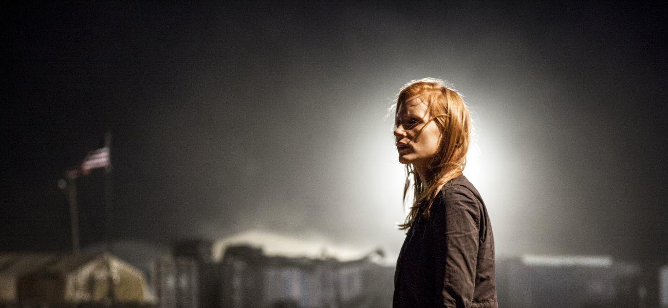 In foto Jessica Chastain (44 anni) Dall'articolo: Fantasmi di guerra.