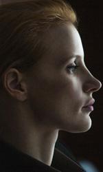 In foto Jessica Chastain in una scena del film Zero Dark Thirty di  Kathryn Bigelow. -  Dall'articolo: Donne che odiano Bin Laden.