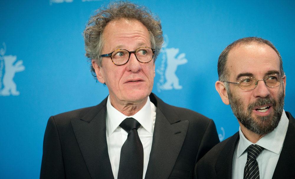 In foto Geoffrey Rush (70 anni) Dall'articolo: Berlinale 2013, il giorno di Danis Tanovic tra storia e filosofia.