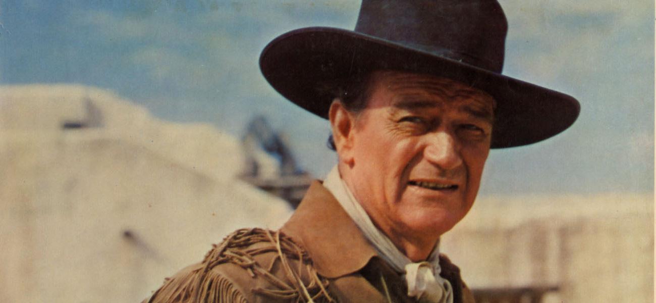 In foto John Wayne Dall'articolo: ONDA&FUORIONDA.