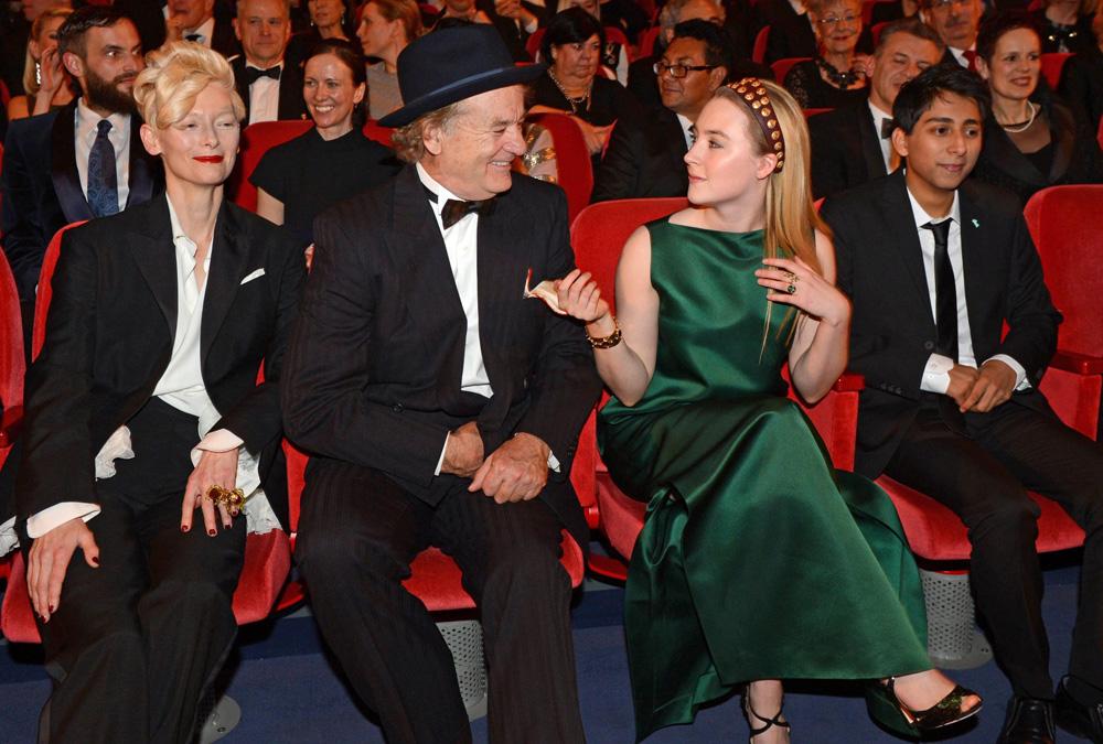 In foto Bill Murray (69 anni) Dall'articolo: Berlinale 2014, il giorno di Whitaker e Keitel.