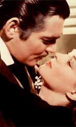 La Metro Goldwyn Mayer compie novant'anni - In foto Vivien Leigh e Clark Gable in una scena del film Via col vento.