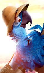 In foto una scena del film Rio 2 - Missione Amazzonia. -  Dall'articolo: Il cinema in movimento.