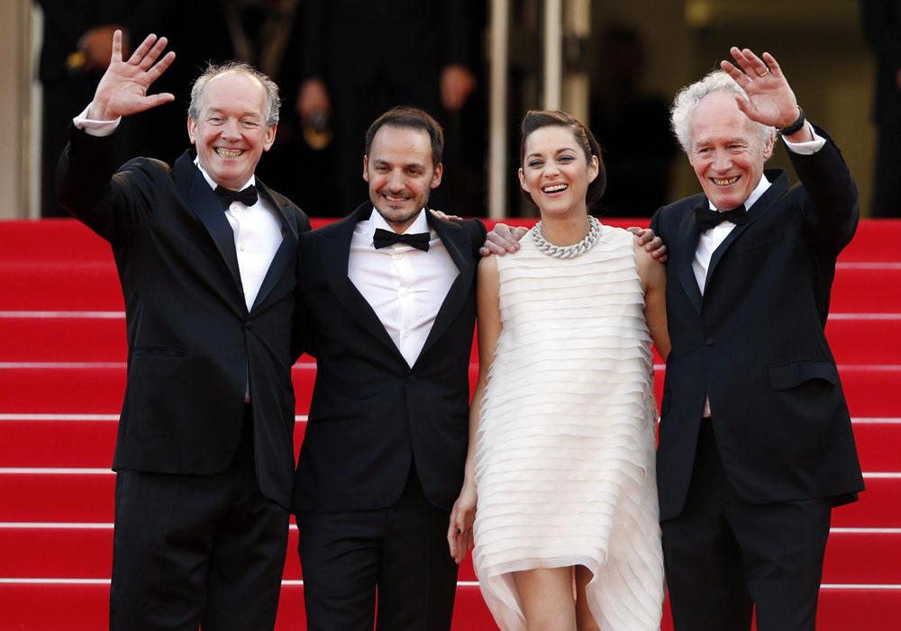 In foto Fabrizio Rongione (48 anni) Dall'articolo: Cannes 67, il giorno dei premi Oscar.